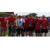Dylan Group Runners op rustplaats bij voetbalvereniging