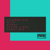 Myon & Seven Lions - Ride Radio 016 2017-07-04 Artwork