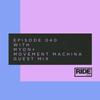 Myon & Movement Machina - Ride Radio 040 2017-12-23 Artwork