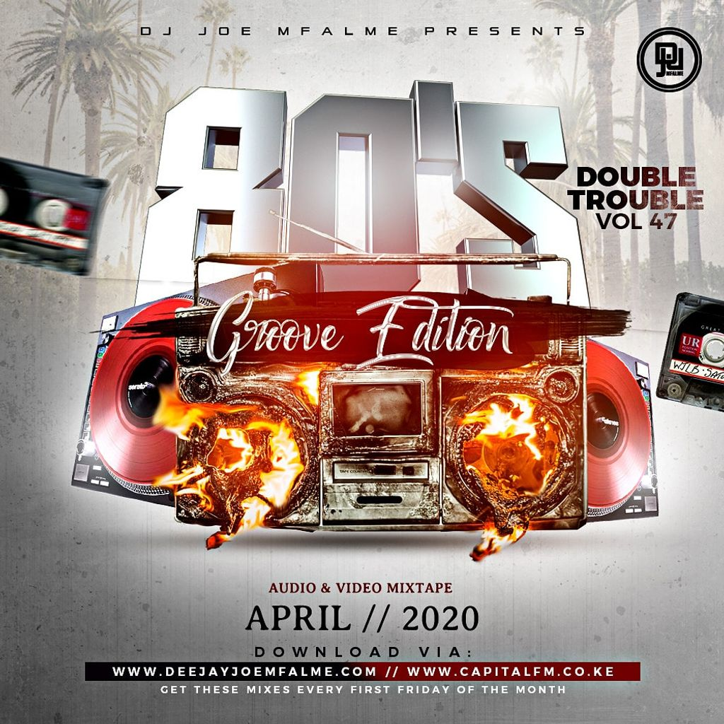The Double Trouble Mixxtape 2020 Volume 47 80's Groove Edition