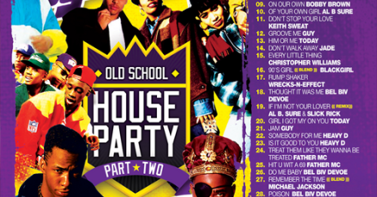 Dj ty boogie old school house party vol 2 2008 by j for Classic 90s house vol 2