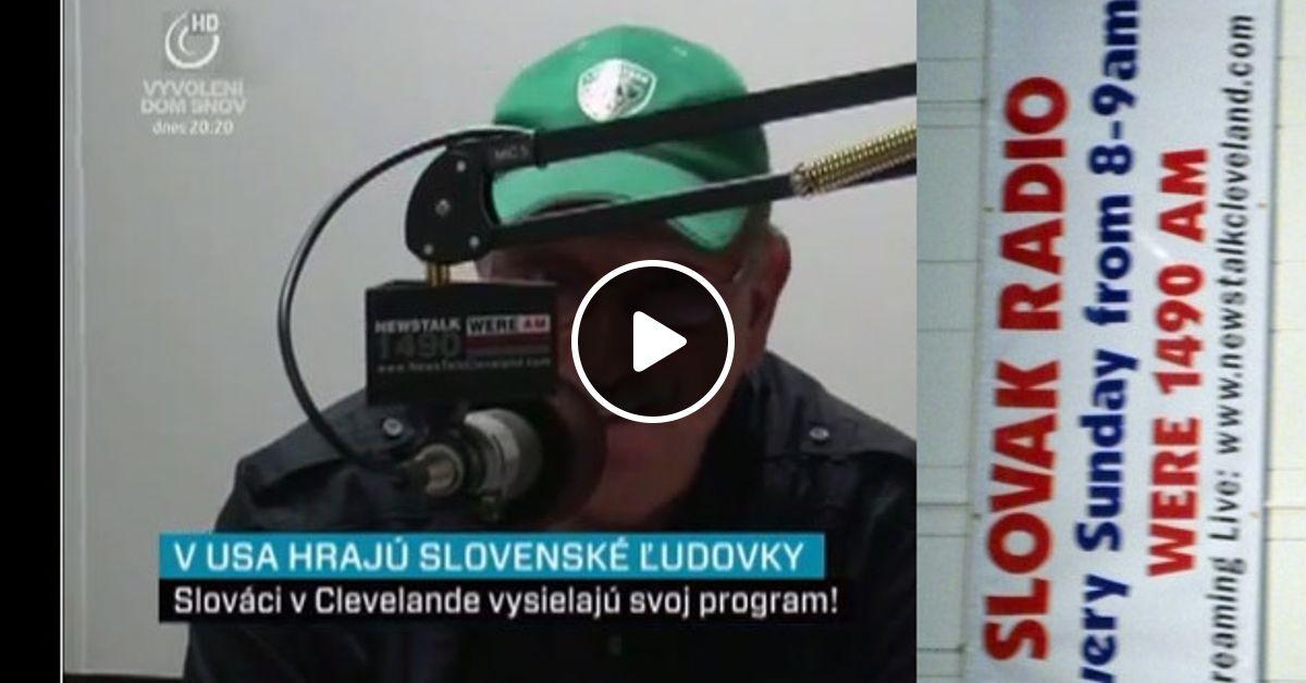 Cleveland Slovak Radio (1 3 2015, WERE 1490 AM, Cleveland