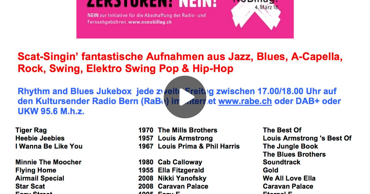 Rhythm and Blues Jukebox 19-01-2018 by Edgardo Spring | Mixcloud