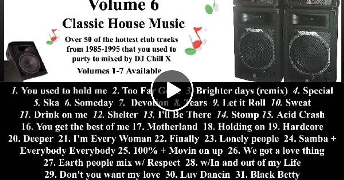 Best of 90 39 s house music back in the day pt 6 by dj for Best acid house tracks