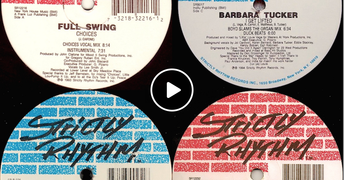 Feel the classics 28 deep in strictly rhythm by for Old school deep house tracks