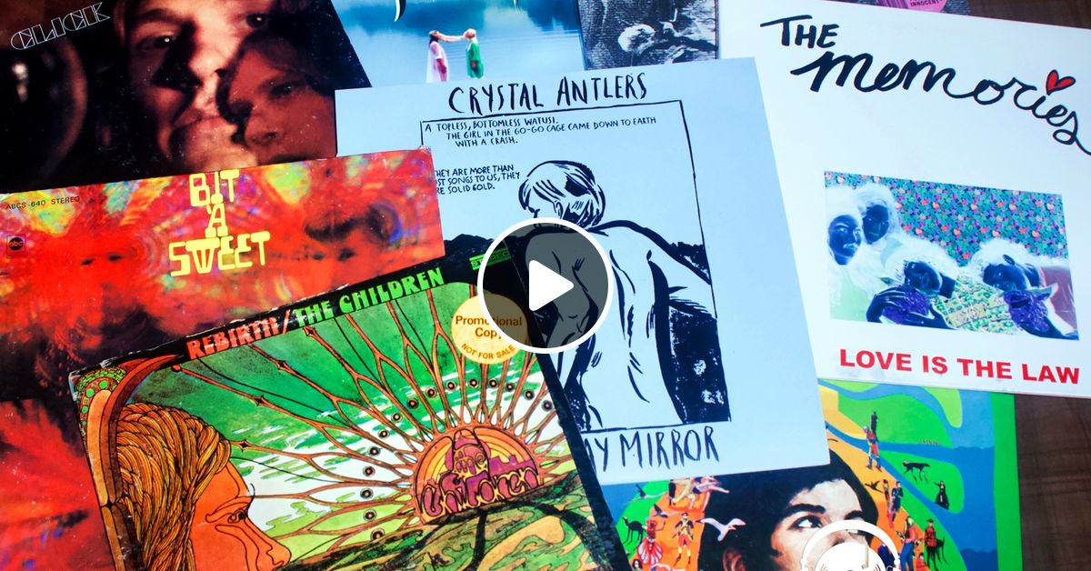 12  The Psyched Out and Garage Sounds Mix With Guest Dennis by