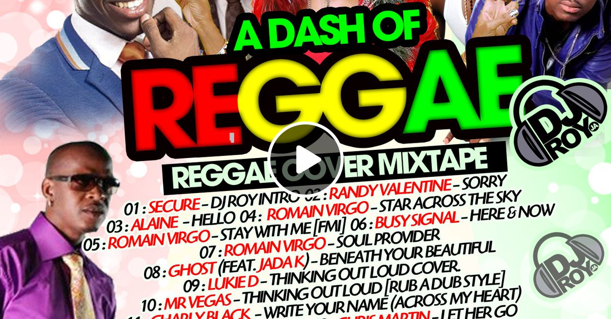 DJ ROY [REGGAE COVER] LOVERS ROCK MIXTAPE 2016 by