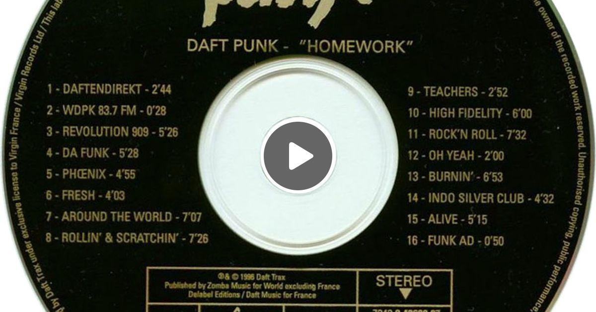 daft punk homework album once left wet