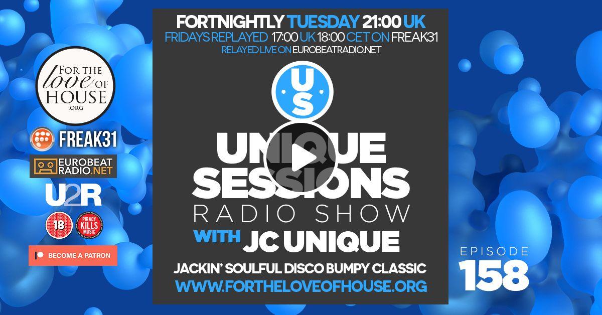 Unique Sessions - 158 by JC Unique | Mixcloud