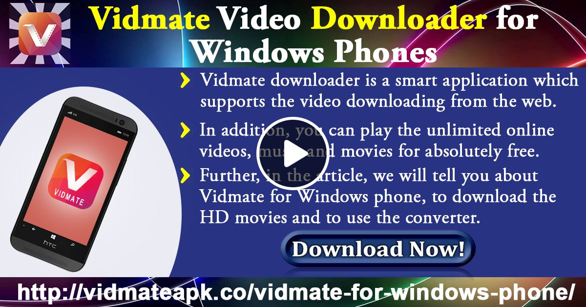 Vidmate Software Download