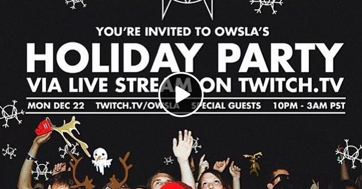 SKRILLEX - Live at OWSLA Holiday Party - 22-Dec-2014 by