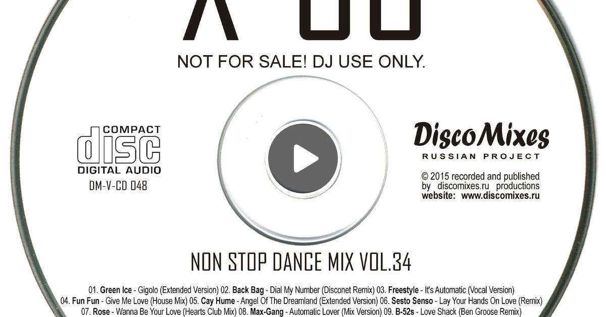 XTENDED 80 - Non Stop Dance Mix Vol 34 by Vladmix by Moimeme | Mixcloud
