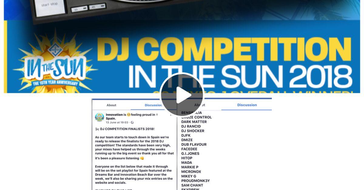 DJ MARKIE P - IN THE SUN 2018 - PRE SET (LIQUID DNB) by DJ