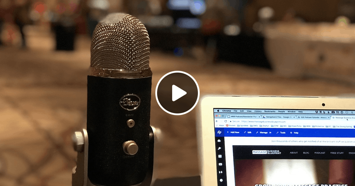 E175: Business Topics from the World Massage Festival 2018 by