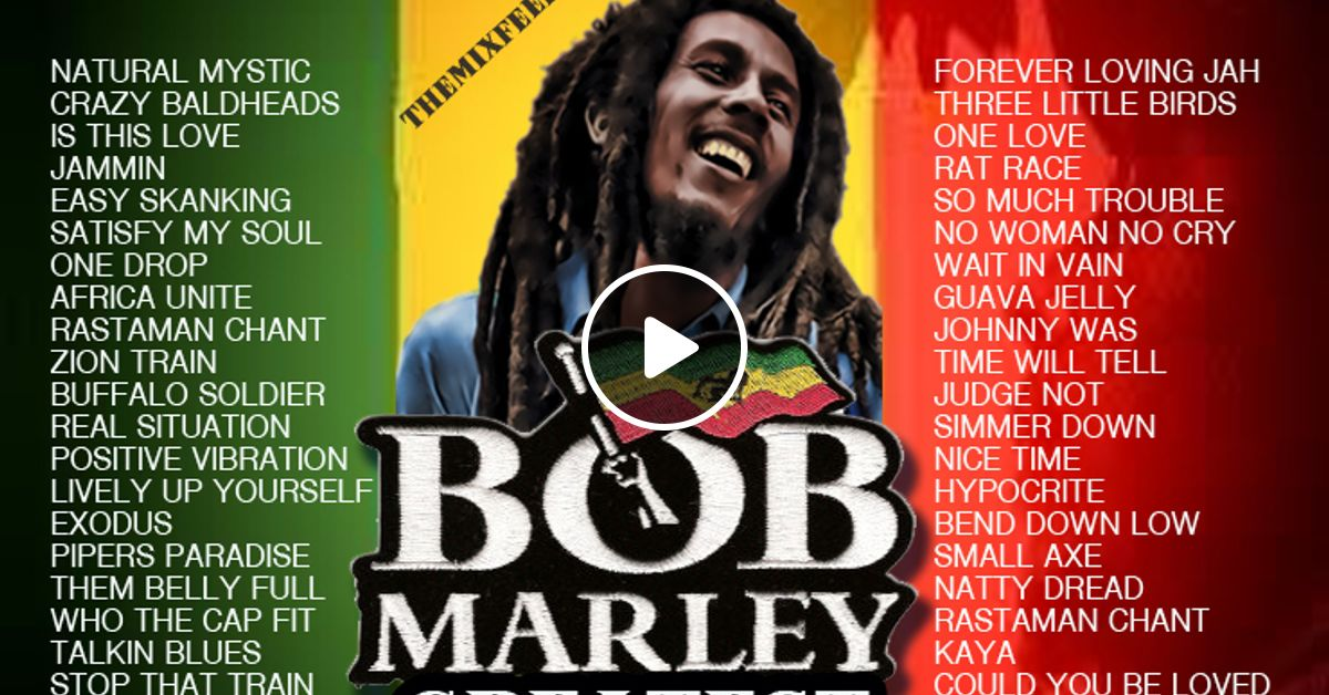 DJ Lin - Positive Vibrations (Ultimate Bob Marley Mix) by