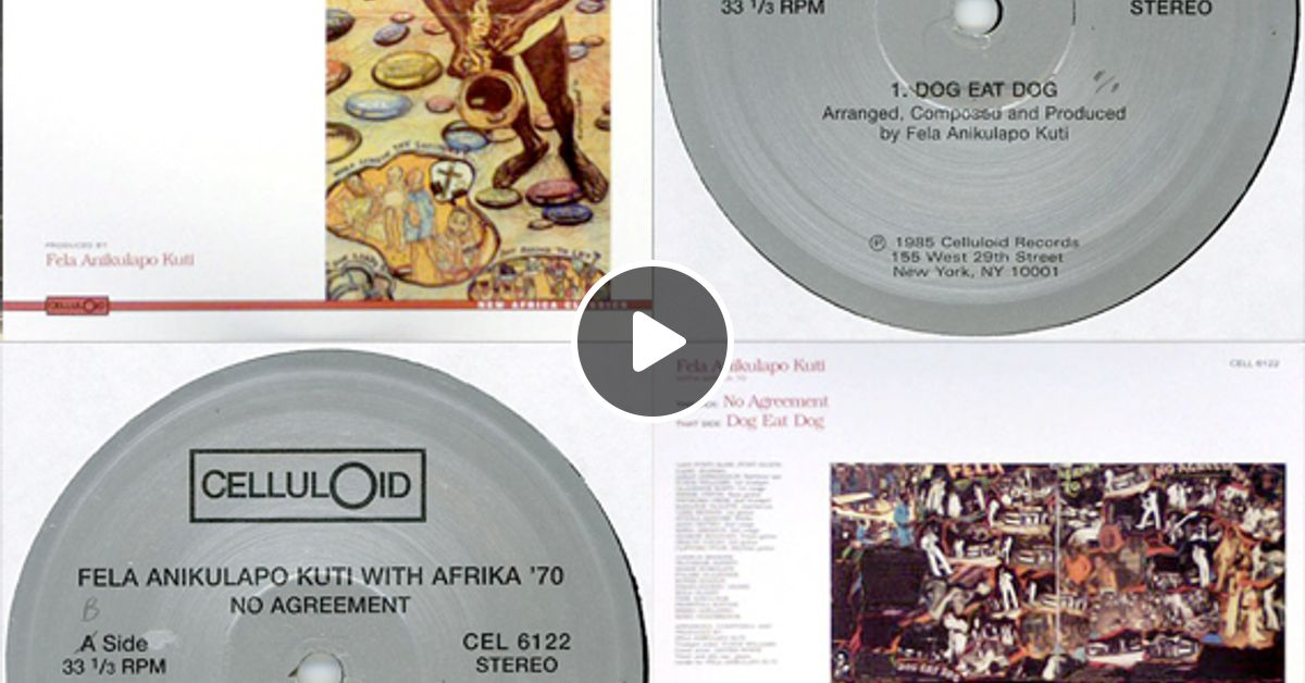 Fela Anikulapo Kuti With Africa 70 No Agreement By Soul Cool