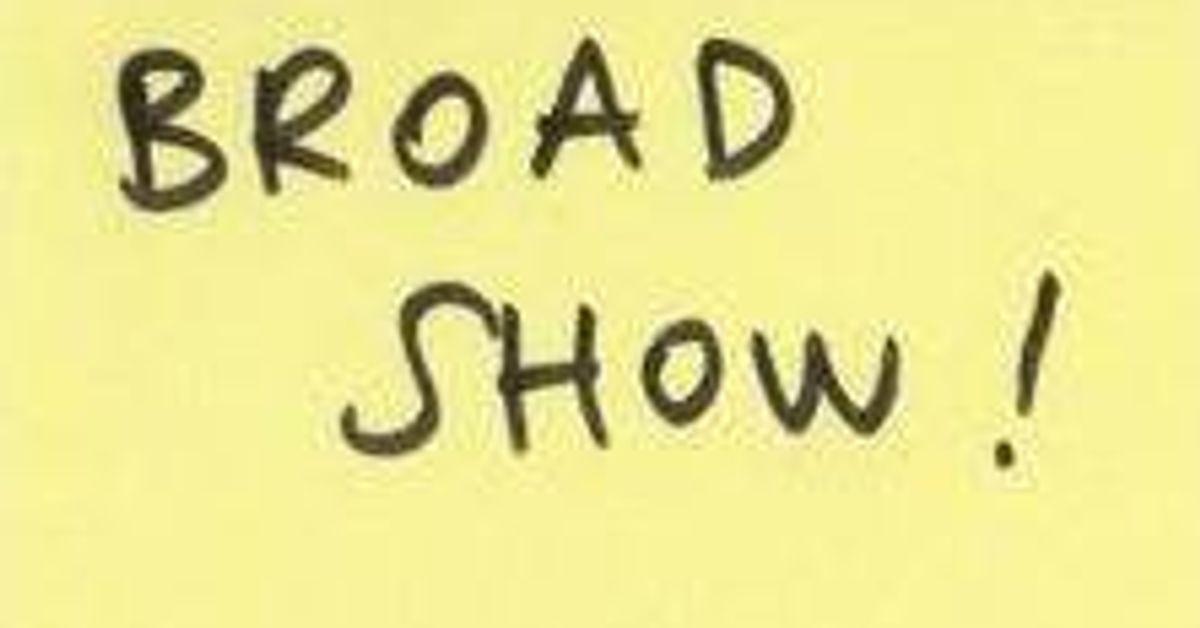 broad show mixcloud