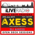 Open Deck Sessions w/ DJ Axess 290619