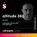 "istreem radio: Altitude360 DJ presents ""Sensisity"" Episode 1 (Tech House) 3 Hour station launch show"