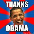 Thanks Obama - President's Day Sugar Shack Special