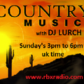 Country Music Show with DJ Lurch...sunday 3pm...10-04-16