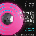 ronny's record party 20210204