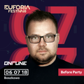 ONTUNE - EUFORIA FESTIVAL 2018 Before party, Klub Na Fali (2018-07-06)