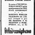 The History of 2BP, Ireland's first radio station in 1923