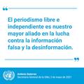 Periodismo libre en México.