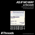 AS IF NO WAY w/ Meredyth - 27-Jun-20