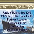 Veronica 538 Top 1000, 23-27th July 1974   the 4th hour