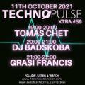 Dj Tomas Chet - Techno Pulse Xtra #59 2021.10.11