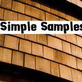 Simple Samples #1