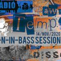 Fall-N-in-bass Sessions # 5 Dissolve @ Radio Tilos, Dawn Tempo 14/Nov/2020