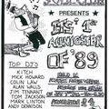 Allanton Miners Welfare, Allanton, Shotts, 4-2-1989 Colin Law