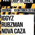 Nova Caza Live @vet! Club NL 10-10-2015