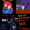 LEONA X Live interview with Norm's Brain and The Wizard