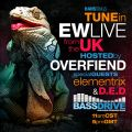 EW Live from London hosted by Overfiend (Special guest Elementrix) @ Bassdrive.com