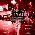 Anfisa Letyago 2 hours live from Dolcevita ,Salerno 07/07/2020
