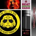 22 01 2021 The Weekend Warm Up with feature by Slim Steve of The Yellow Dog Band on Beat Route Radio
