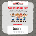 #JuniorSchoolRun-15-08-2019 Ben From St Annes Primary and Johnathan from Weaver Primary
