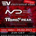 EVT#010 - electronical vibes radio with Mike Phobos & NordFreak