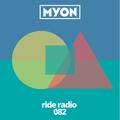 Ride Radio 082 with Myon