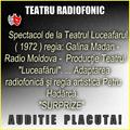 Va ofer:  Spectacol de la Teatrul Luceafarul ( 1972 ) regia: Galina Madan - Radio Moldova SURPRIZA!