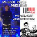 Michael Gray Mastermix Show on Mi Soul Radio 31/10/2020