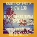 Radio Esplendor #3.30. Love International Special