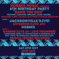 Hobbes Music 6th Birthday Party, The Bongo Club, Edinburgh (Closing Set), October '19
