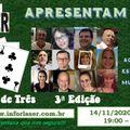 Programa Baú Musical - Trinca de Três 3a. Ed.- Radio Web Inforlaser e DJ David Bertelli - 14-11-2020