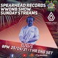 Surve - Live @ Spearhead x WWDNB Show - 25/04/21