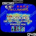 GoaProductions Radio 049: Viandoks - New Challengers Promo Mix
